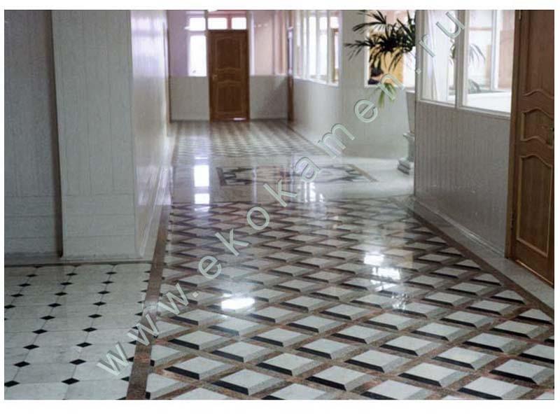 Дизайн плиточных полов
